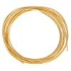Beadalon French Wire 0.7mm 1 Meter Plated Gold